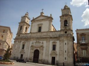 barocke Kathedrale von Caltanissetta in Mittelsizilien