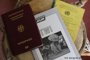 Pass, Impfpass, Sprachkurs für die Ghana-Reise