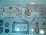 alte Geldscheine, Münzen