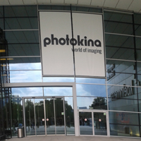 Eingang Messe Photokina