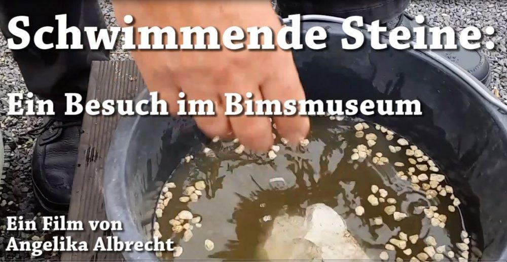 Das Bimsmuseum: Museum der schwimmenden Steine