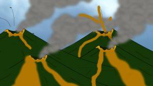Vor 200000 Jahren brachen in der Eifel viele Basaltvulkane aus