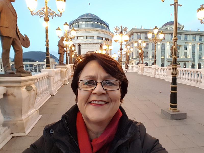 Film-Spaziergang durch Skopje