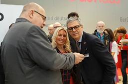 Peter Altmaier auf der Handwerksmesse München - Foto Angelika Albrecht