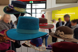 Hut-Design auf der Handwerksmesse München - Foto Angelika Albrecht