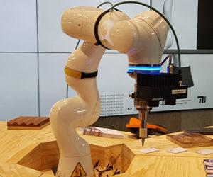 Robotic auf der Handwerksmesse - Foto Angelika Albrecht