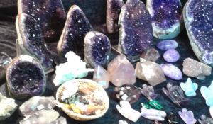 Auf der Mineralienbörse