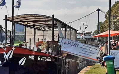 Museumsschiff Tinguely: Ein Schiff, das es in sich hat